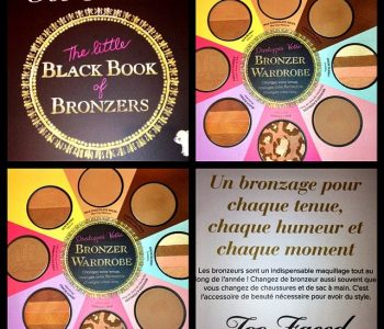 {Concours Exclu} – The Little Black Book of Bronzers de Too Faced à gagner