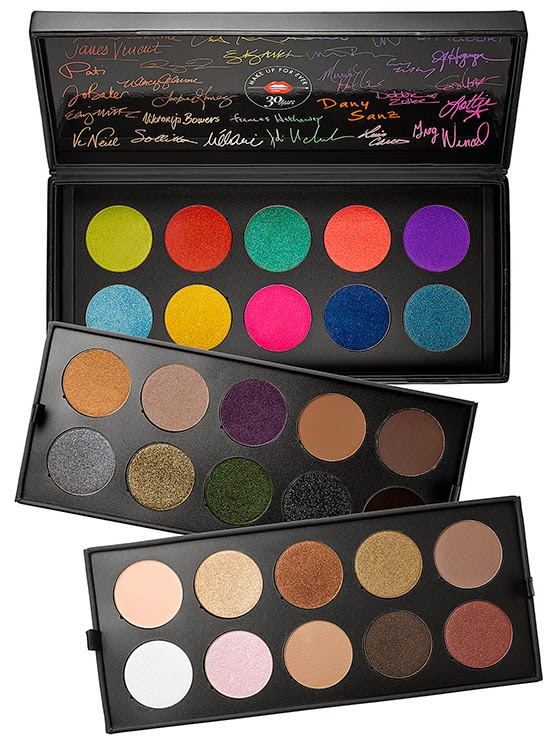 Make Up For Ever Palette 30 Years / 30 Artist