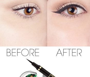 La technique du scotch pour parfaitement poser son eye-liner (tuto photos inside)