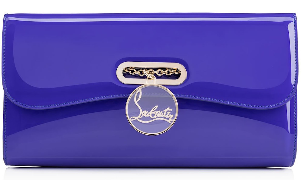christian louboutin pigalle clutch