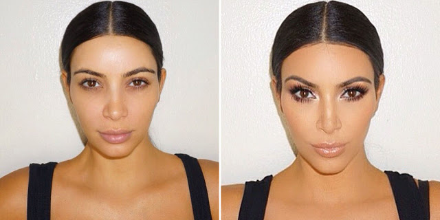 kim kardhian smoky eye