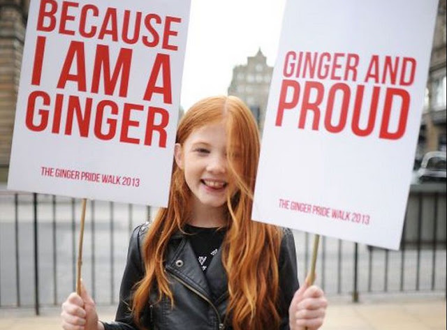 ginger proud