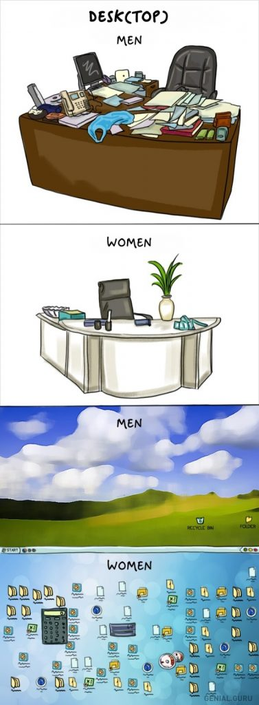 women-vs-men