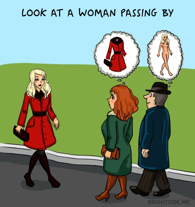 look-at-woman