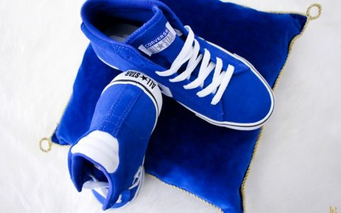 {Les Shoes du Moment #29} – Mes Converse Blue Chic (super bon plan inside)