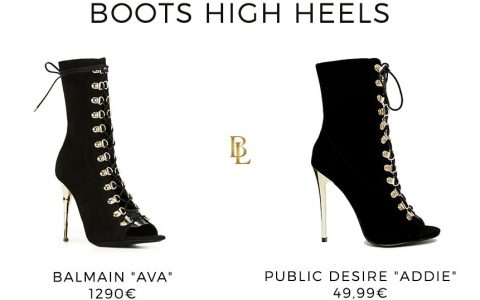 Fashion Dupe : Balmain vs Public Desire