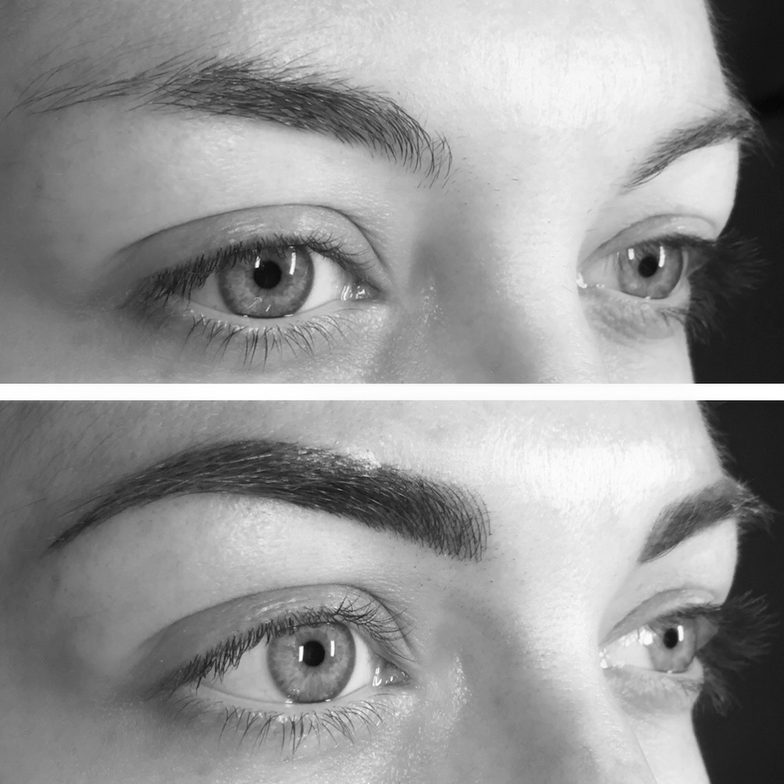 maquillage sourcils semi-permanent
